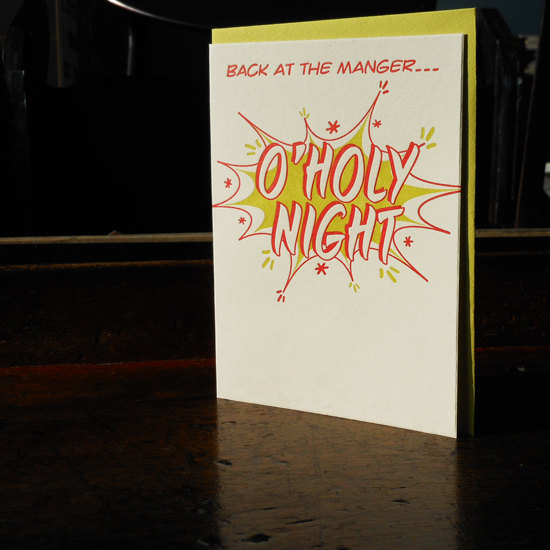 Comic Book O Holy Night ($4.50)