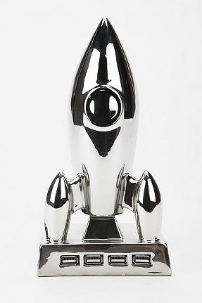 Rocket Ship USB Hub ($35)
