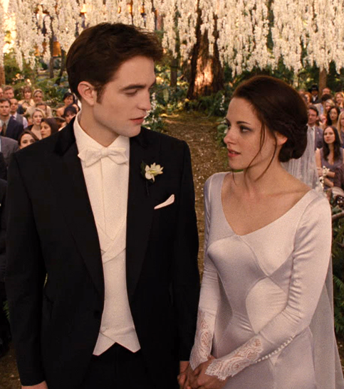 Breaking Dawn Wedding Style