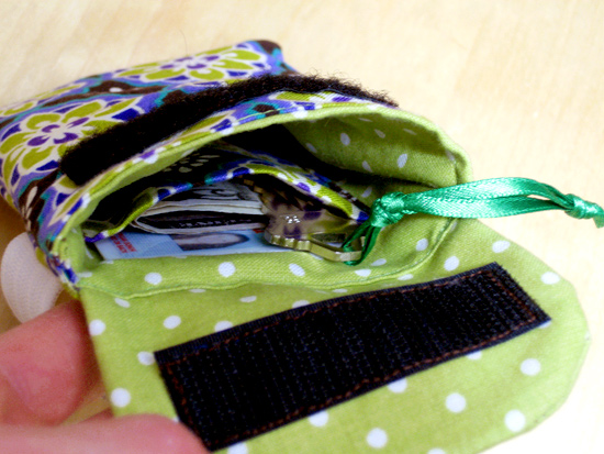 Close-Up of the Inner Pocket