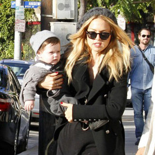 Rachel Zoe Skyler Berman Pictures in LA With Ron Rosenzweig