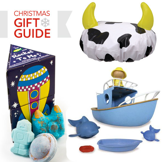 2011 Christmas Gift Guide: Great Bath Bits For a Little Man!
