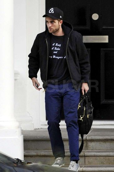Robert Pattinson Heads Out Solo in London, as Breaking Dawn Continues to Reign