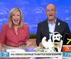 Video of Sunrise Giving Away $40,000 Cash Cow Prize to Viewer Who Answers With Today Tagline