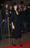 Penelope Cruz on the red carpet in Turin.