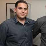 Jonah Hill at a Columbia Pictures Moneyball screening at the Cary Grant Theatre at Sony Pictures Studios on Sunday.