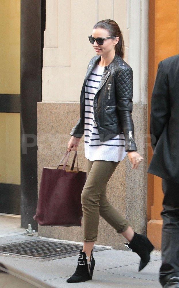Miranda Kerr ran errands in NYC.
