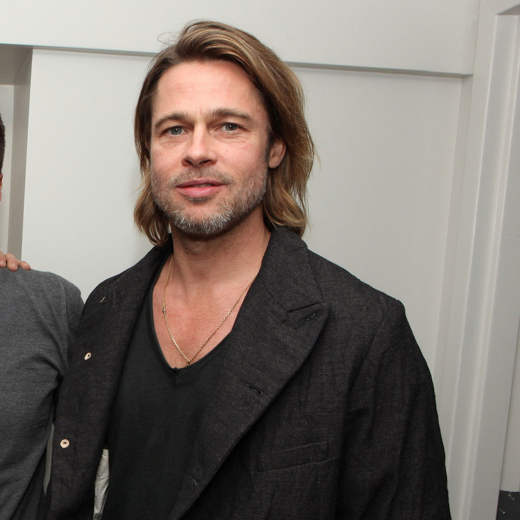 Brad Pitt at a Moneyball screening in LA.