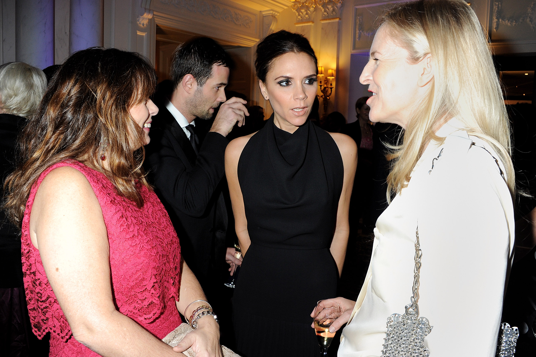 Victoria Beckham and friends