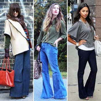 Styling Tip: Wear Flare or Wide-Leg Jeans