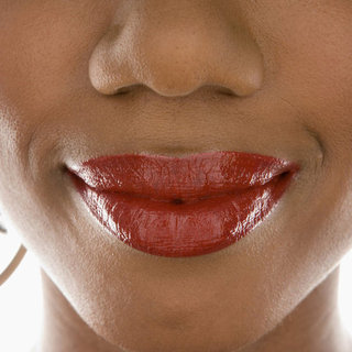 The Easy Lipstick Line Fix Trick