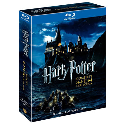 Harry Potter: The Complete Eight-Film Collection Blu-Ray Disc Set ($48, originally $140)