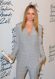 Stella McCartney smiled at the 2011 British Fashion Awards.