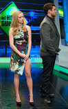 Justin Timberlake and Amanda Seyfried were guests on Spain's El Hormiguero.