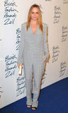 Stella McCartney wore a feminine suit to the British Fashion Awards.