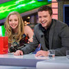 Justin Timberlake and Amanda Seyfreid El Hormiguero Pictures