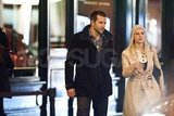 Bradley Cooper and Melanie Laurent out together in Paris.