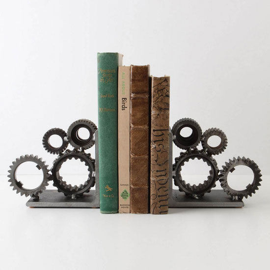Gear Bookends ($228)