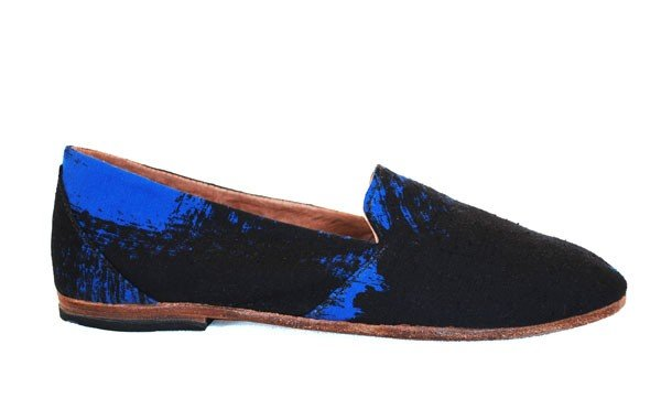 "We're kind of obsessed with these cool kicks — and the fact that each pair of Osborn's ""happily made"" shoes are totally unique and handcrafted by artisans in Guatemala — sweat-shop free!  Osborn Electric Avenue Loafers ($143)"