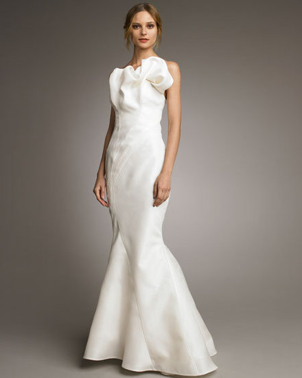 Winter Wedding Dresses to Shop Now Show your curves in this sleek silk