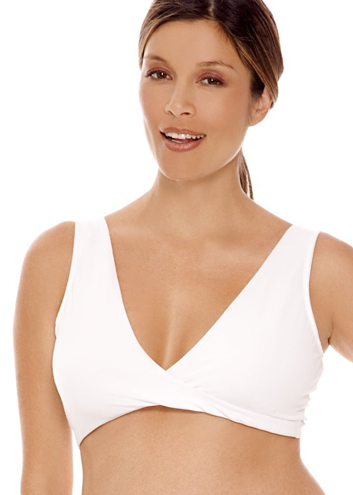 Lamaze Cotton Spandex Sleep Bra for Nursing and Maternity ($13)