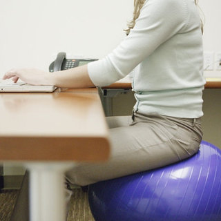 How to Sit on a Stability Ball