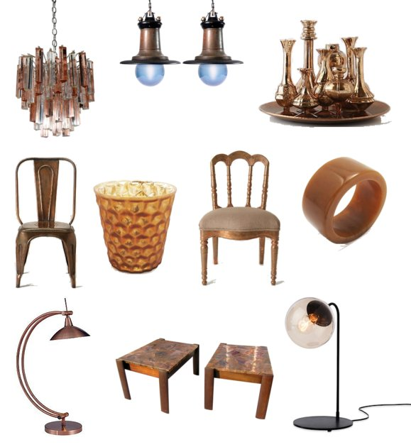 Copper Decor Shopping Popsugar Home