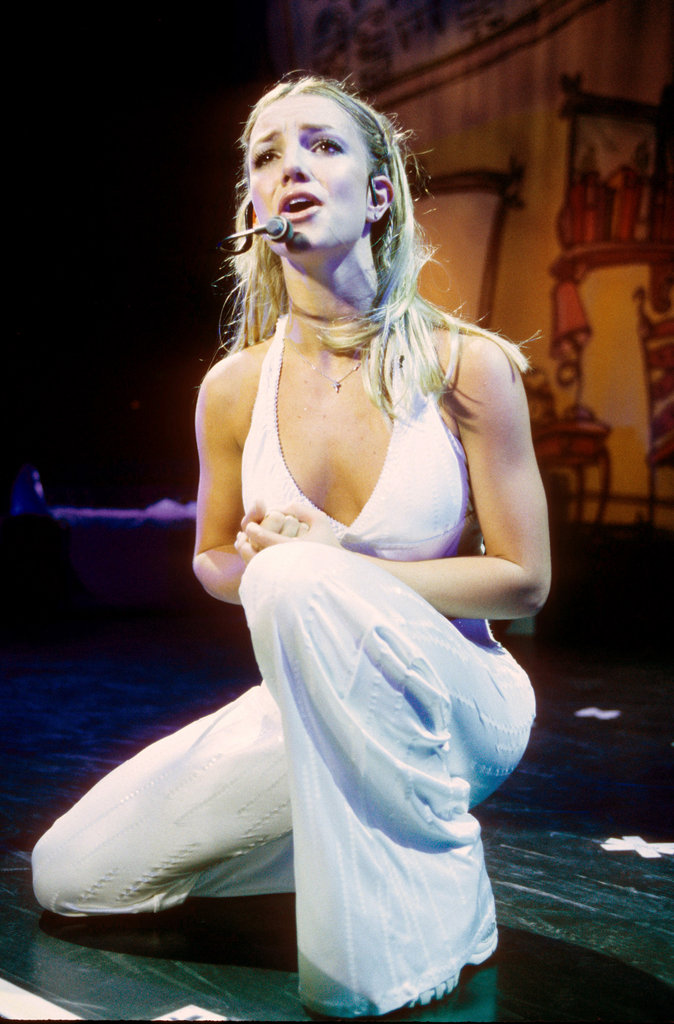 Britney Spears sang her heart out in June 2000.
