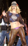 Britney showed off for an MTV special in 2003.