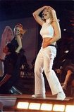 Britney Spears took the stage at the 1999 Teen Choice Awards in LA.