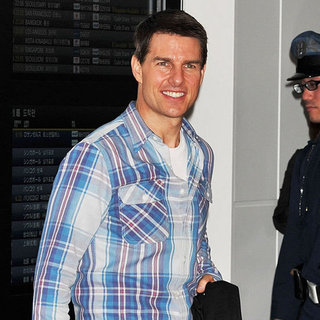 Tom Cruise Promotes Mission Impossible in Tokyo Pictures