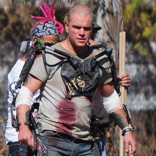 Matt Damon Shooting Elysium in Mexico City Pictures