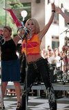 Britney Spears went bright on the Today show in June 2000.