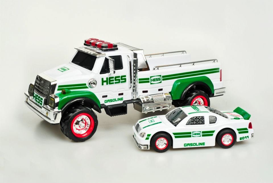 2011 Hess Toy Truck and Race Car ($27)