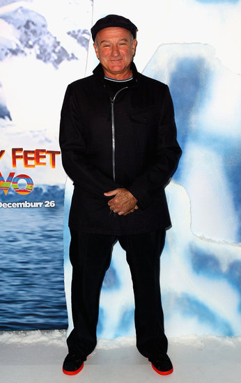 Robin Williams Brings the Joy of Happy Feet Two to Sydney