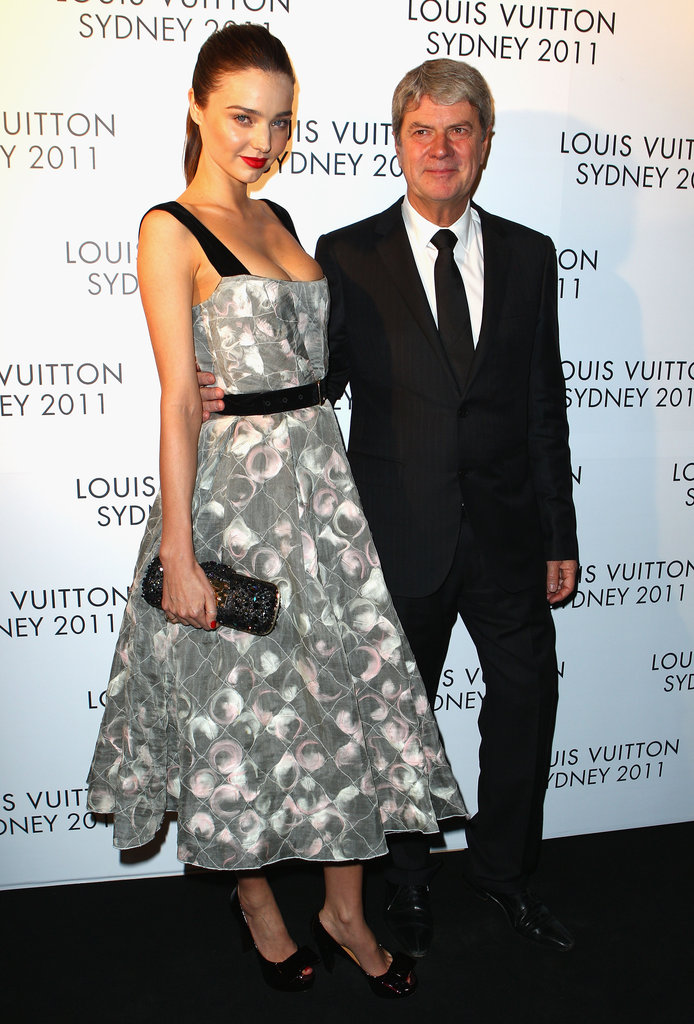 Miranda Kerr and Yves Carcelle