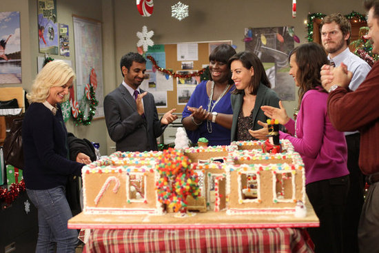 See How Parks and Recreation Is Celebrating in These Holiday Episode Photos!