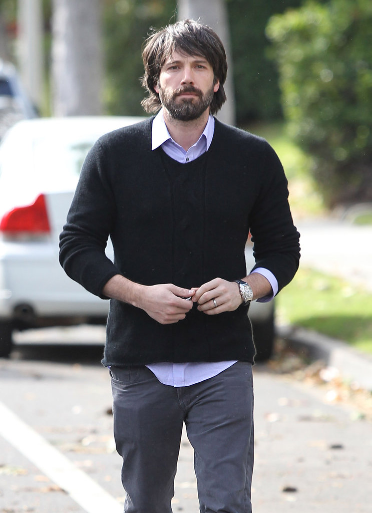 Ben Affleck out in LA.