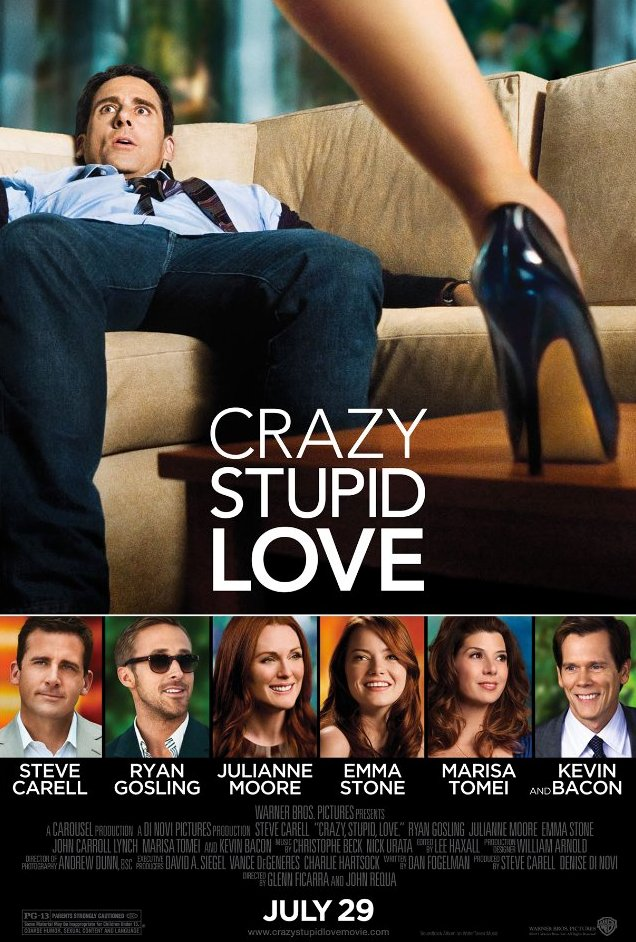 Crazy, Stupid, Love DVD