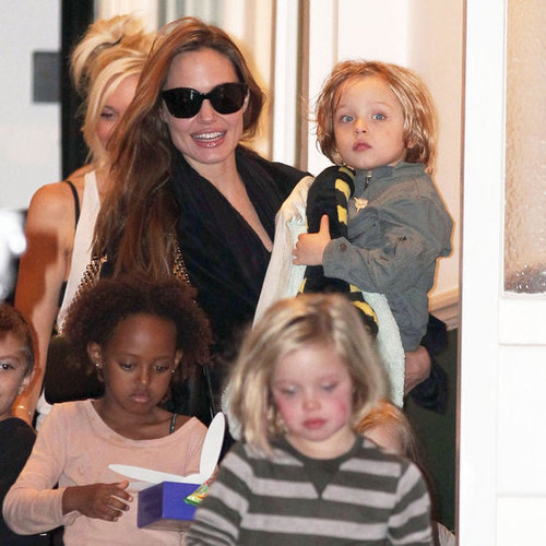 Best 2011 Pictures of Brad Pitt, Angelina Jolie, and Kids