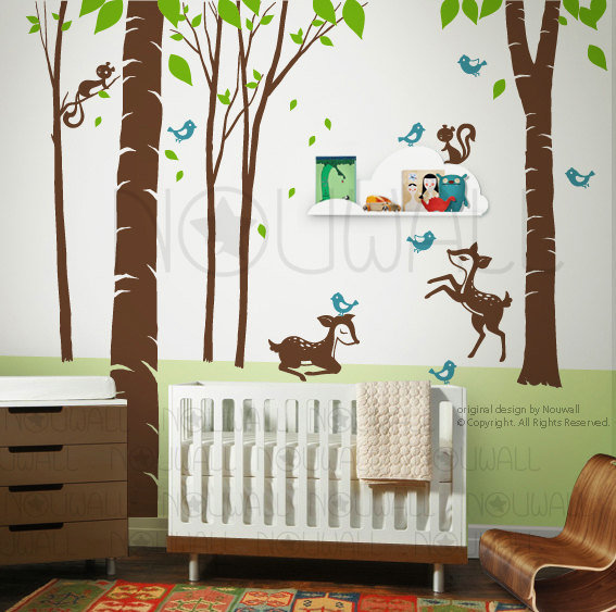 Fantasy Woodland Tree Decal ($98)