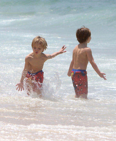 Jayden James and Sean Preston Federline