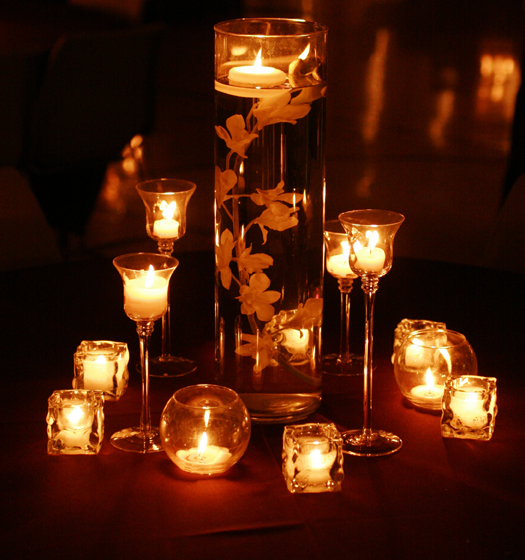 Wedding Candles Decorations B