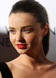 Miranda Kerr was polished and pretty at a party in Sydney.