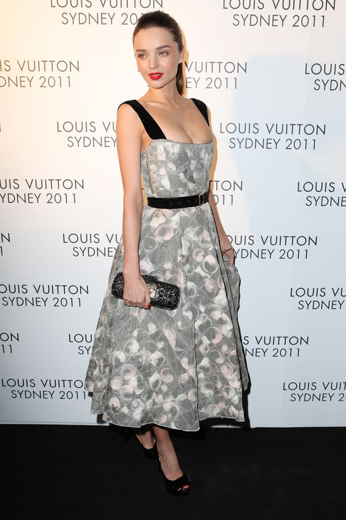 Miranda Kerr had a fashionable night out in Sydney.
