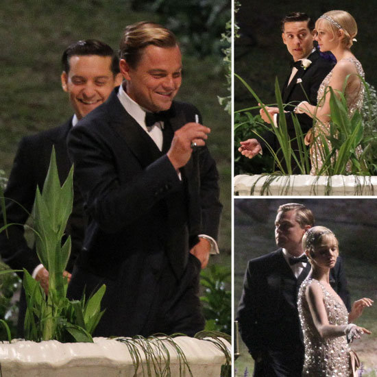 Leo, Carey, and Tobey Glam Up For a Night Together on Gatsby