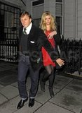 Chelsy Davy partied with ex, Prince Harry.