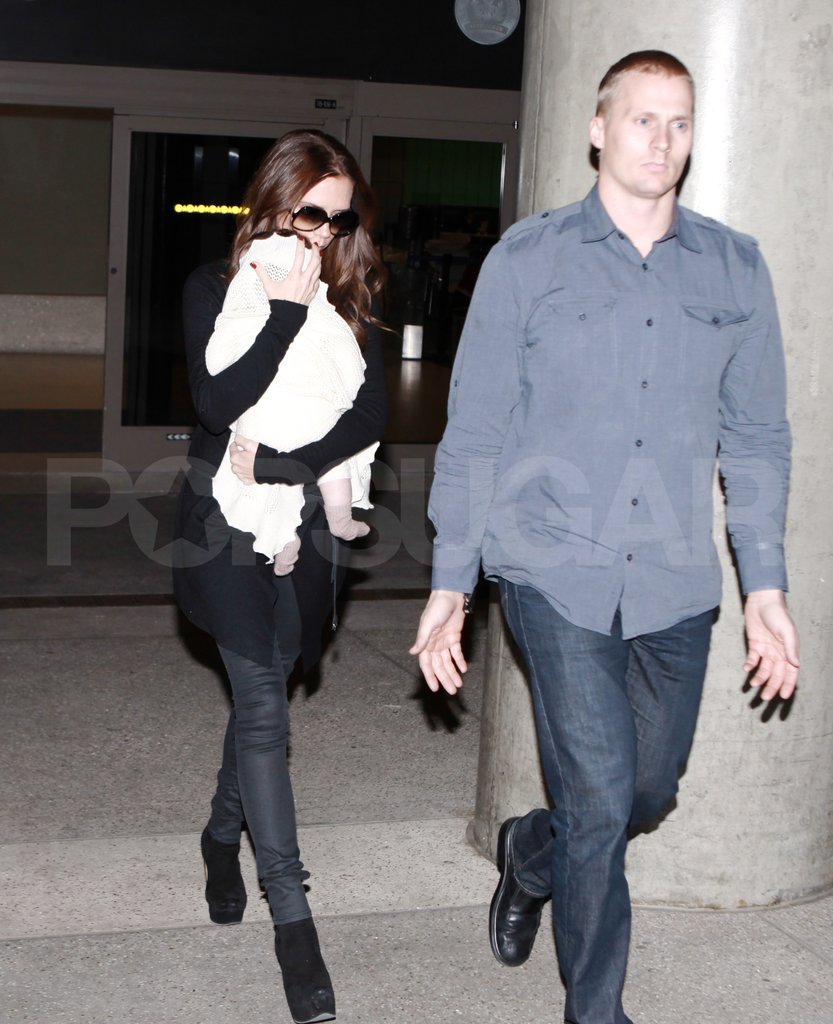 Victoria Beckham went home to LA.