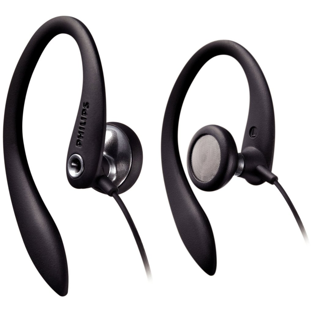 Philips Flexible Earhook Headphones ($5)