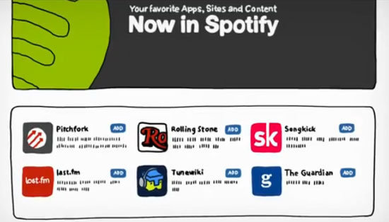 Spotify Gets Apps